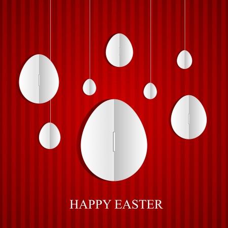 Easter card. Vector illustration Vector