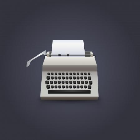 Typewriter Stock Vector - 20003100