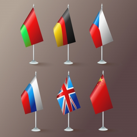 World flags. Vector. Vector