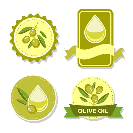 Icon of olive oil Vector