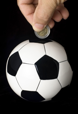 Soccer investment Stock Photo