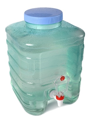 Fresh water in container