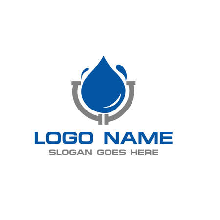 Plumbing Logo Çizim