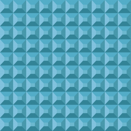 sectional: Abstract geometric seamless pattern made of repeating pyramids Illustration