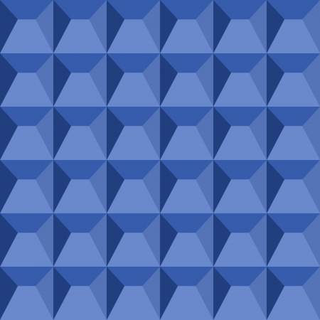 Abstract geometric seamless pattern made of repeating pyramids Vector