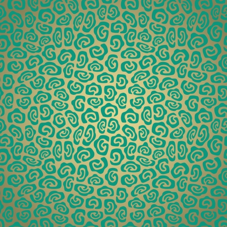 Seamless pattern made of abstract oval green spots Stock Vector - 20942036