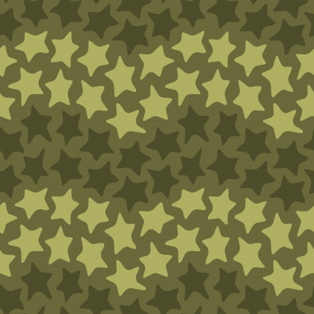 Seamless colorful pattern made of abstract dancing stars