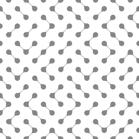 Abstract seamless pattern made of simple connected drops
