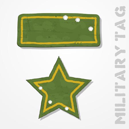 estrellas  de militares: Resumen estrella de los militares del grunge y el rectángulo de agujeros de bala