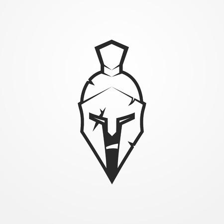 antiquarian: Spartan warrior vector image Illustration