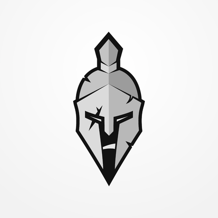 Spartan warrior vector image Illustration