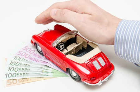 Full car insurance Stock Photo - 17951726