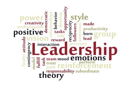 relaciones humanas: Ilustraci�n del concepto de liderazgo de un equipo de hombres de negocios y siluetas de mujeres que siguen la misma direcci�n que el l�der Vectores