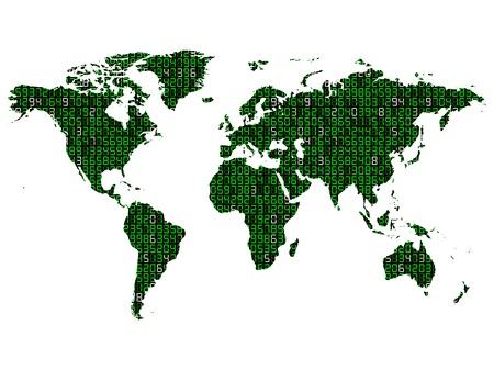 mundi: World map technology information