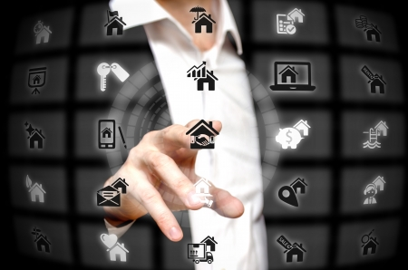 web service: Real estate services offered at a finger tip