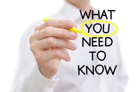 knowledge: Was Sie brauchen, um auf eine wei�e Tafel geschrieben wissen