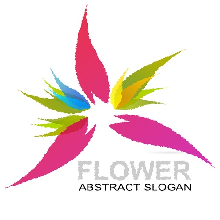 Abstract flower Stock Vector - 21200483