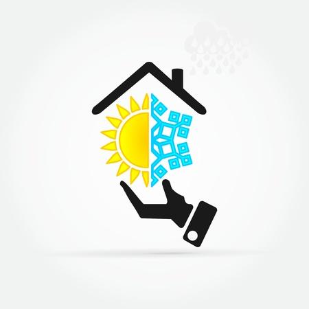 Immobilier offre commerciale de l'économie Banque d'images - 21041720