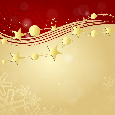 Christmas bauble ornament background Vector