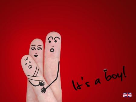 its a boy: It�s a boy