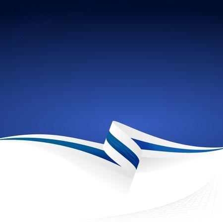 Abstracte kleur vector achtergrond Finse vlag Stock Illustratie