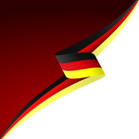 german: Abstract color background German flag