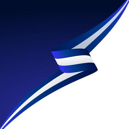 Abstrakt Farbe Hintergrund griechischer Flagge