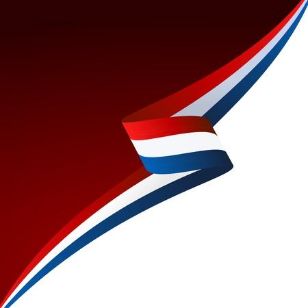 minimal: Resumen de color de fondo de la bandera francesa Vectores