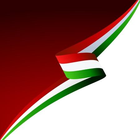 bandiera italiana: Astratto colore di sfondo bandiera italiana Vettoriali