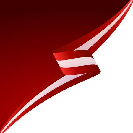 austrian flag: Abstract color background Austrian flag