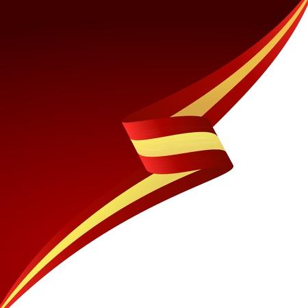 bandiera spagnola: Colore di sfondo astratto bandiera spagnola Vettoriali