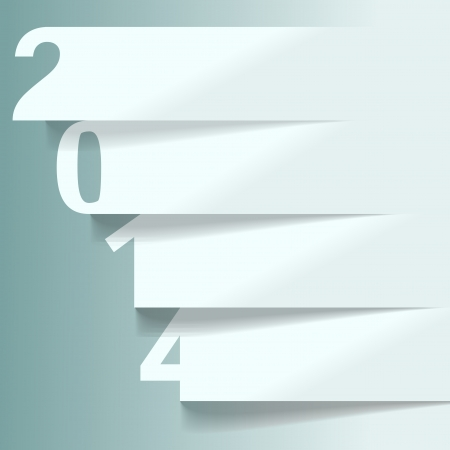 new years resolution: 2014 abstract advertising background