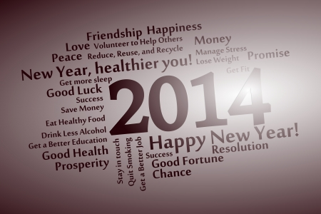 2014 abstract word cloud background