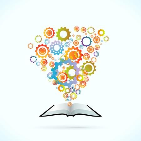 znalost: Synergy kniha vektorové pojetí ilustrace