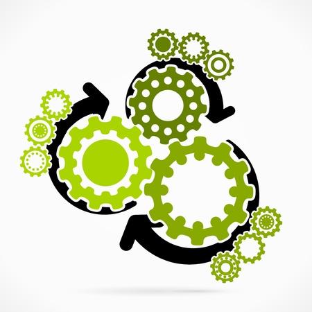 Résumé synchronisée illustration vectorielle de vitesse Banque d'images - 22150599
