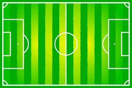 Soccer field abstract Brazil flag Stock Vector - 22206556