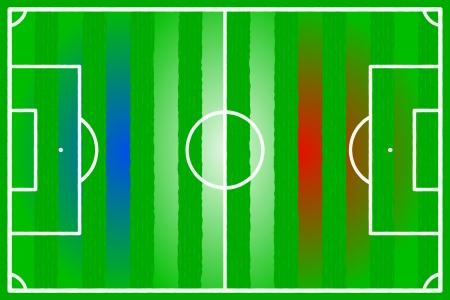 Soccer field abstract France flag Stock Vector - 22206557