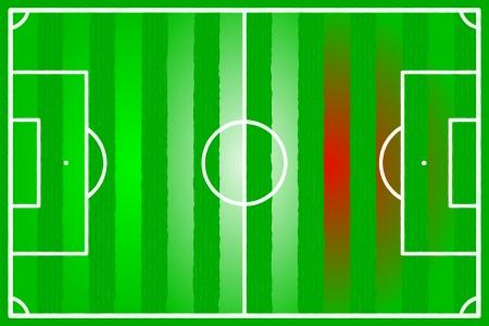 Soccer field abstract Italy, Mexico, Iran flag Stock Vector - 22206562