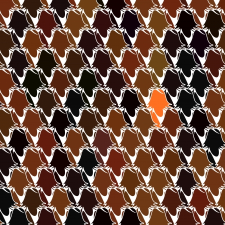 faction: Orange business silhouette seamless abstract vector background