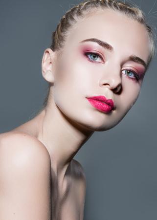 portrait of a beautiful girl glamorous girl photo