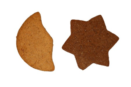 gingerbreads isolated Stock Photo - 4124038