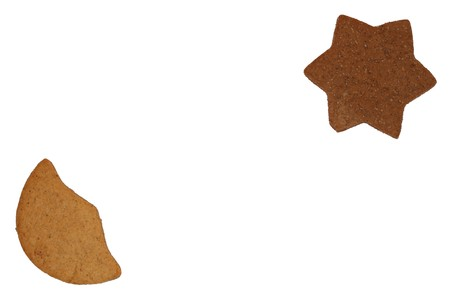 gingerbreads isolated Stock Photo - 4124062