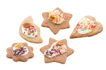 gingerbreads isolated Stock Photo - 4145231