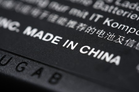 sew tags: Made in China