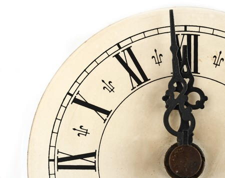 winder: old clock