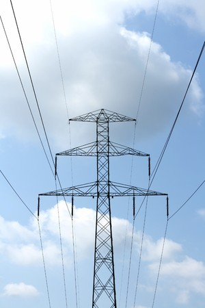 volts: Electricity pylon