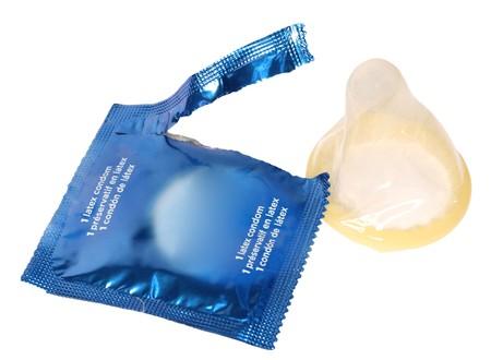 nourish: condom isolated