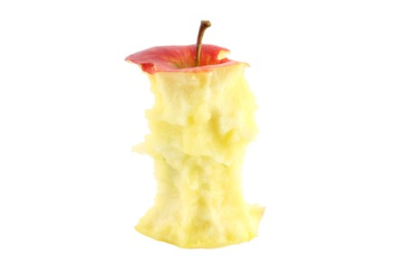 apple core: apple core isolated
