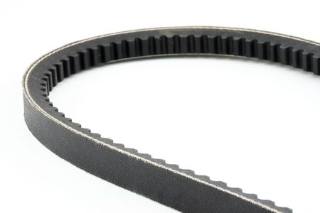 timing belt isolated Stock Photo