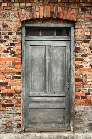old door: vintage door Stock Photo